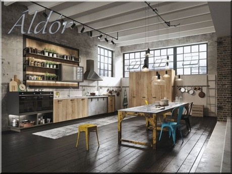 2 industrial loft enteriör